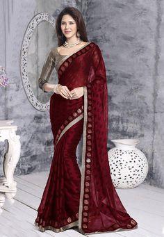 Indian Traditional Party Wear Bollywood Sari Bridal Wedding Pakistani Saree 322 #SUNRISEINTERNATIONAL #WOMENETHNICWEARBOLLYWOODDESIGNERWEDDINGSARI