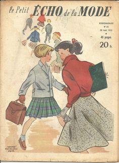 LE PETIT ECHO DE LA MODE N°35  30 AOUT 1953 REVUE ANCIENNE | Livres, BD, revues, Revues, Style de vie et mode | eBay!