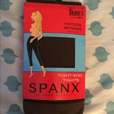 Brand New❗️Spanx Tights Never worn, dark brown Spanx tights! The package is a little beat up, but has never been opened ☺️ SPANX Intimates & Sleepwear Shapewear