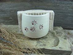 Porcelain Ceramic Sponge Holder in White and by ShadyGrovePottery, $25.00