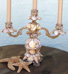 i need to do this on some crappy candle stick holders and chandeliers.   Nooks & Crannies