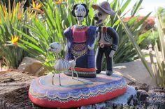 Castillo. Dia de los Muertos. My Garden.  1
