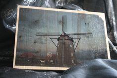 Architekturaufnahmen in Holz veredelt - hier die Gildehauser Mühle