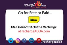 Idea is a well-known brand being appreciated among the customers a lot. A comprehensive range of prepaid plans are waiting for you. it does not matter what you are looking for since the great collection of variety of plans