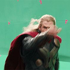 No Capes, as shown by Thor. XD