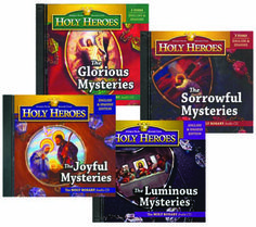 We have all of Holy Heroes rosaries on CD and I love them!!!