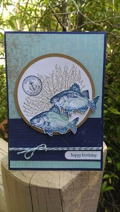 Stampin' Up! stamp set By the Tide ;Sketchbook Saturday and Colour Q