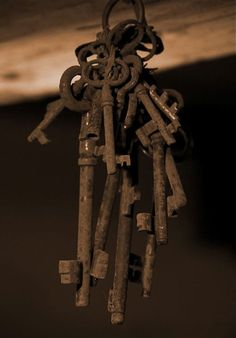 Old rusty keys would be fun to collect.