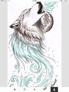 Wolf drawing Pointers, Easy Drawings, Drawing Tips, Sketches, Art, Stylus, Easy Designs To Draw, Croquis, Simple Drawings