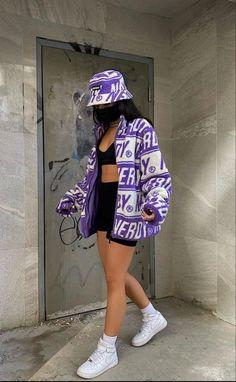 Tomboy Fashion, Teen Fashion Outfits, Retro Outfits, Streetwear Fashion, Girl Outfits, Vest Outfits, Teenager Outfits, Swaggy Outfits, Baddie Outfits Casual
