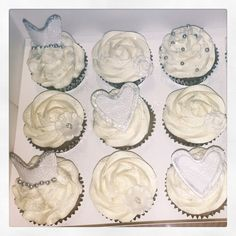 Wedding cupcakes - vanilla and almond