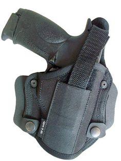Toc pentru pistol cu detasare rapida. Compatibil cu pistoale din seria Glock, Fort, Jerico, MP9, Sig Sauer, Hk, Walther, etc. Produs in Romania.