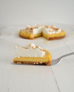 Limoen meringue taart - Uit Pauline's Keuken - Key Lime Pie