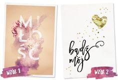 My Pink Plum!: Kilka słów o miłości — plakaty dla zakochanych