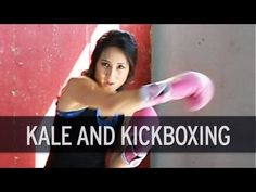 Food and Fitness Journal: Kickboxing Workout and Kale Chips Recipe