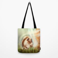 Rabbit Tote Bag by chaploart | Society6