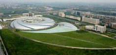 These Are the Most Beautiful Science Labs in the World - The Shanghai Synchrotron Radiation Facility (SSRF), Shanghai, People's Republic of China