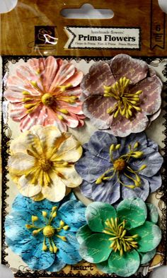 Prima Labelle Island Mix Handmade Flowers