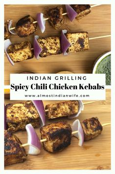 Check out this spicy chili marinade that you can use on chicken kebabs or paneer kebabs! Indian Side Dishes, Main Dishes, Tyson Foods, Indian Wife, Cooking Dishes, Spicy Chili, Chicken Marinades, Kebabs, Chicken Chili
