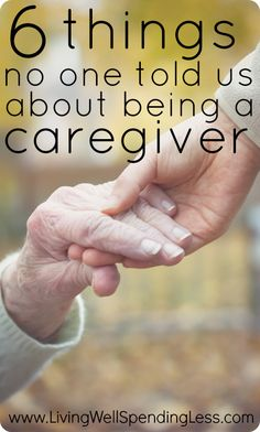 6 things no one told us about being a caregiver.  An honest look at the challenges of caring for an elderly parent....and, with the benefit of hindsight, what things couldve been done differently to make the process a little easier. #alzheimers #tgen #mindcrowd www.mindcrowd.org