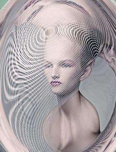 Delicately Distorted Portraits - These Eugenio Recuenco Portraits are Imaginative and Avant-Garde
