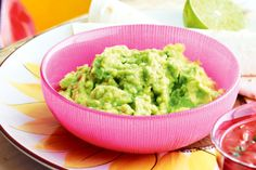 It really doesn't get any easier than this super quick guacamole.