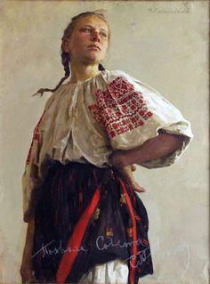 Artist - Mikhail Ryasnyansky (1926-2003) Ukrainian Painter.
