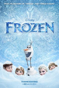 See the latest FROZEN movie poster! The Disney film is an action adventure comedy that stars Kristen Bell, Josh Gad and Idina Menzel. Frozen Disney, Film Frozen, Frozen 2013, Frozen Free, Walt Disney, Frozen Watch, Frozen Quiz, Frozen Soundtrack, Frozen Sing