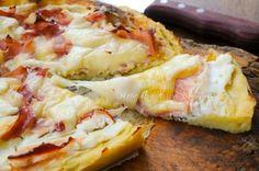 Crostata salata di patate con ricotta e prosciutto vickyart arte in cucina
