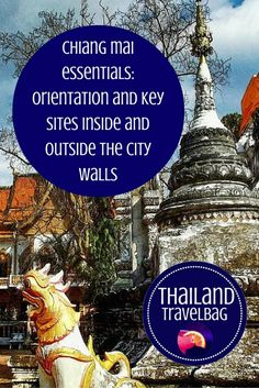 Explore the amazing city of Chiang Mai; inside and outside the city walls #Thailand #Chiangmai