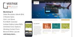 Vestige Museum - Responsive layout HTML5 Template (Nonprofit)