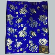 Royal Blue African Headtie,Nigerian Sego Gele Headties/scarf/ Bandanas for…