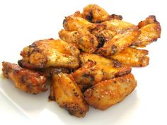 , Sweet and Spicy Baked Chicken Wings