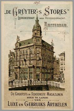Voor De Gruyter 1895