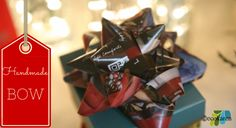 How To Make Recycled Paper Bows - Dr. Karen S. Lee