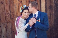 Our Wedding Day, Floral Tie, Wedding Hairstyles, Folk, Wreaths, Fashion, Moda, Popular, Door Wreaths