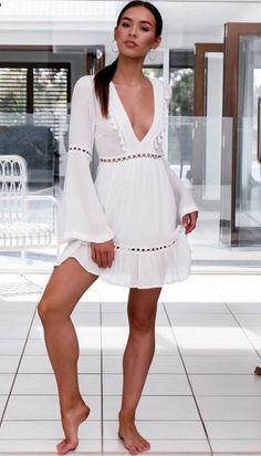 69e6d695664 16 meilleures images du tableau robe blanche boheme