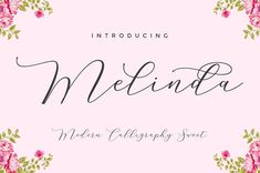 Melinda Script is a beautiful and interesting calligraphy handwriting font. You can see from scratches that give a realistic and modern style. font looks sweet and full of the best characters. you can use this font in your design product Script Fonts, All Fonts, Calligraphy Handwriting, Caligraphy, Cursive, Design Typography, Photoshop, Free Fonts Download, Font Free