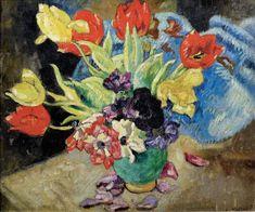LOUIS VALTAT (1869-1852) - VASE DE FLEURS - Auction