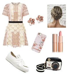 """""""Summer feels"""" by boston-c on Polyvore featuring self-portrait, Betsey Johnson and Allurez"""