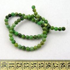 Chrysofras, grøn, rund 6mm