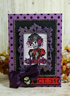 Day of the Dead Card - Scrapbook.com