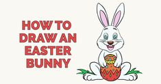 How to draw an Easter Bunny Featured Image