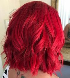 Hair color red bright ombre Trendy ideas Hair color red bright ombre Trendy ideasYou can find Bright red hair and more on our website.Hair color red b. Short Red Hair, Dark Red Hair, Short Hair Styles, Short Bright Red Hair, Burgundy Hair, Red Pink Hair, Violet Hair, Bright Coloured Hair, Crimson Red Hair
