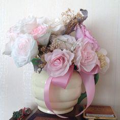 Voor een leuk bouquet of slinger van te maken