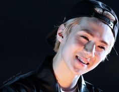 Heres a pic of my Sehunnie smiling which brings world peace