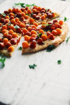 Rien ne bat cette pizza aux tomates cerises, origan frais et parmesan. C'est…