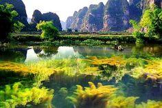 Van Long, Ninh Binh, Vietnam. #vktour