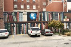 A mural for the Savannah branch of the Rollings Hills Consolidated #Library, created by Kelly Poling
