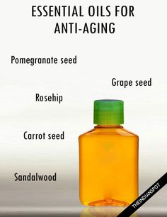 ESSENTIAL OILS FOR ANTI-AGING SKIN CARE